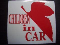 evc_CHILDREN IN CAR NERVステッカーエヴァンゲリオン
