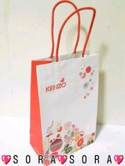 【KENZO/ケンゾー】ショップ紙袋