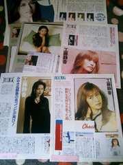 工藤静香  1998年 切り抜き5ページ