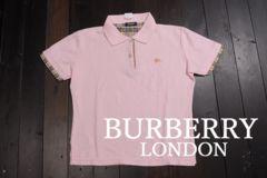 999円出品 MT3066 BURBERRY バーバリー ポロシャツ 2