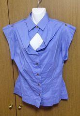 ヴィヴィアンLEDLABEL水色シャツ40サイズ