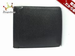 ブルガリ 2つ折り財布 - 黒 レザー BVLGARI