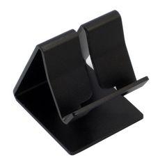 200円★スマートフォン用 アルミニウム製 スタンド ブラック