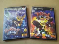 PS2☆ラチェット&クランク1&2☆まとめ売り♪SONY。アクションゲーム。
