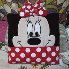 ディズニーミニーマウス クッション SEGAラッキークジ