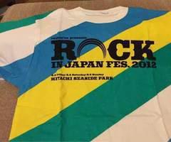 ROCK IN JAPAN FES 2012★back number 秦基博 藤巻亮太★未使用M