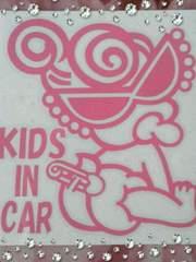 ヒスミニ KIDSINCAR キッズインカーステッカー 車用品car用シールpinkピンク ヒステリックミニ