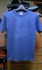 ワールドワイドラブ プリント半袖Tシャツ Sサイズ1 紺色・ネイビー ロック 日本製 スター