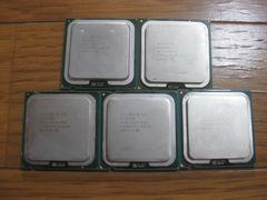 ★中古★ Intel Celeron 430 ×3, Celeron D 341, Celeron 420