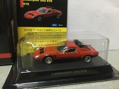 京商1/64ランボルギーニミニカーコレクション�@Jota SVR 赤