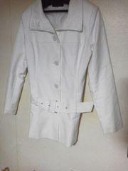 白いコート/11AR/4シーズン着られます♪美品♪