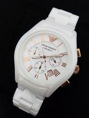 エンポリオ・アルマーニ 腕時計 セラミカ AR1416 ホワイト 新品!