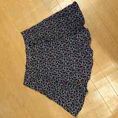 エイチアンドエム フレアミニスカート 小花柄