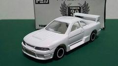 トミカ30周年記念イベント限定ホワイトトミカ・スカイラインレーシングR33