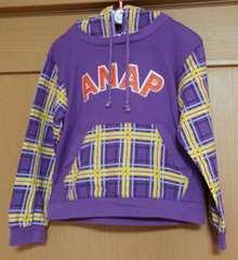 ANAP kids☆フード付きトレーナー☆size110