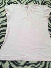*シンプルピンクTシャツ*150