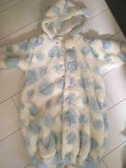 新生児カパーオール外出着厚手防寒服