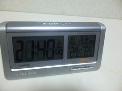 カシオ★多機能電波時計