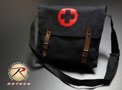 ROTHCO社製・NATO軍・医療部隊メディカルショルダーバッグ黒新品