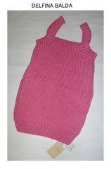スピックアンドスパン*DELFINA BALDAアメリカ製キャミニット新品ピンク