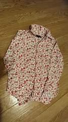 美品☆女の子150☆ラルフローレン 花柄シャツ