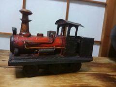希少・古い蒸気機関車・ブリキ製