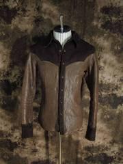 (定価205200)バックラッシュ・イタリアンオイルショルダーシャツ