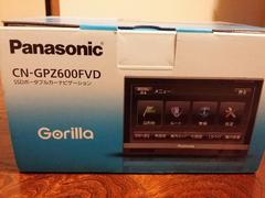 Panasonic SSDポータブルカーナビGorlilla