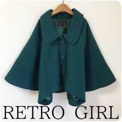 ((( RETRO GIRL )))�|���`���W���P�b�g moss green/�l