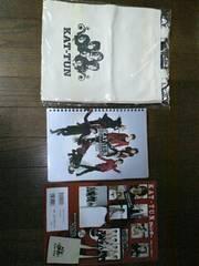 【新品同様】KAT-TUN☆カレンダー☆2008.4ー2009.3