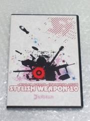 STYLISH WEAPON'10 初回限定盤 2枚組DVD ゴールデンボンバー鬼龍院翔