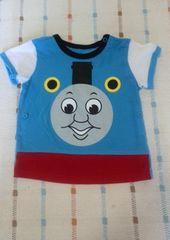 機関車トーマス柄半袖シャツ♪90�pくらい
