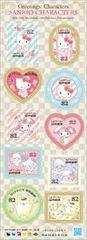*H28サンリオキャラクターグリーティング切手記念切手シール切手キティマイメロキキララプリン