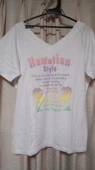 大きいサイズ2LHawaiianハワイアンTシャツ
