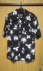 新品ROENロエン ハワイアンスカルシャツ 50