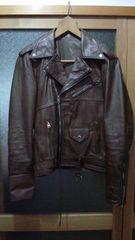 値下げフランス製のお洒落なライダースジャケット