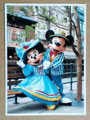 ★FUNderful Disney(TDS)★ミキミニ★ポストカード★非売品?