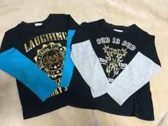 男児Tシャツ120  2枚セット