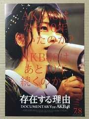 映画『存在する理由 DOCUMENTARY of AKB48』チラシ10枚