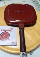 新品ホットクッカーChefel シェフェルパン圧力式両面フライパン