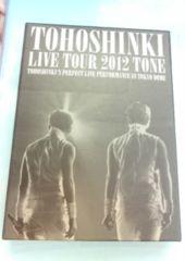 東方神起☆LIVE TOUR 2012TONE初回版