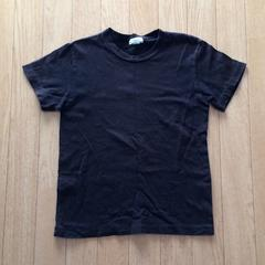 ブランドkiki 半袖Tシャツ バックプリント ブラック 130