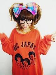 wc/JAPANスエット赤