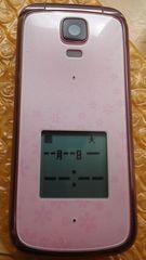 激カワ系au簡単ケータイK012ピンク超美品レベル