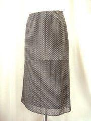 【アンタイトル】【未使用品】シフォンプリントロングスカートです