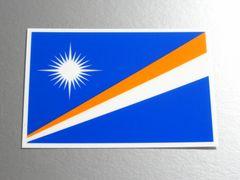 1■マーシャル諸島国旗ステッカー1枚 シール ☆即買!■