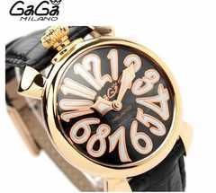 腕時計 ガガミラノ GAGA MILANO マヌアーレ40MM ユニセックス