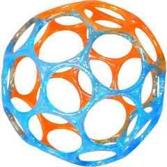 新品 オーボール 10cm ブルー、オレンジ