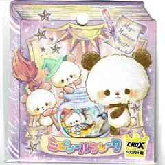 ★フレークシール★Moji Moji Panda★42ピース