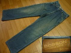 BOBSONボブソンAU-593デニムぺインターパンツLジーンズ日本製